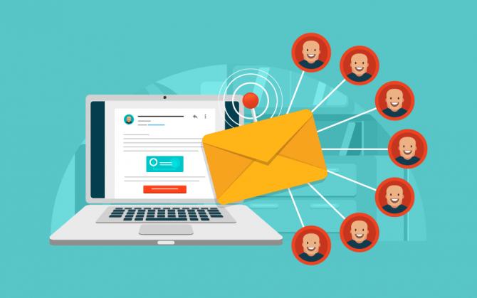 Importância da lista de e-mail